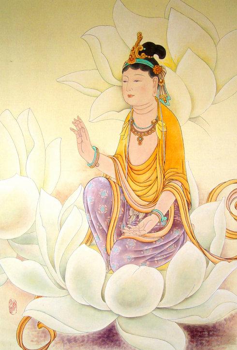 古今历代佛菩萨绘画造像欣赏�Α炯访劳肌