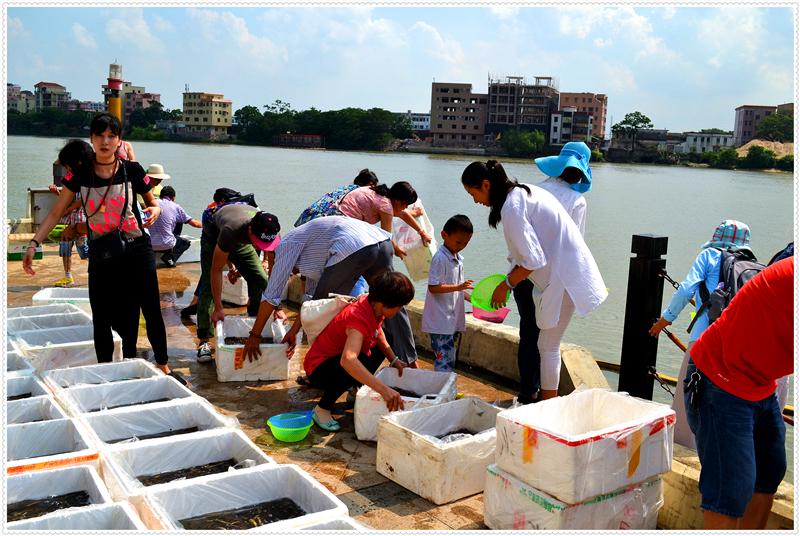 6月20日广州百万生命放生活动图片纪实,请进来随喜和回向 - 妙音 - 妙音的博客