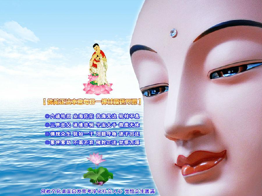 15寸电脑佛教桌面壁纸(2)【净化人心 和谐社会】