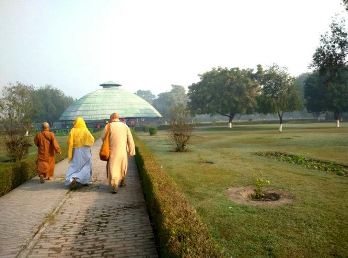 吠舍离古塔发掘的遗迹,在当地称为一号塔(No 1)
