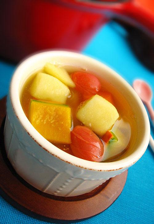 南瓜番茄排毒汤 - 纯净心 - 纯净心