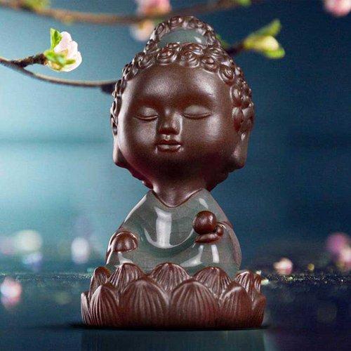 安宁的佛像