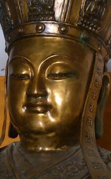 震撼!9.0级大地震发生前 地藏菩萨像突然流泪!