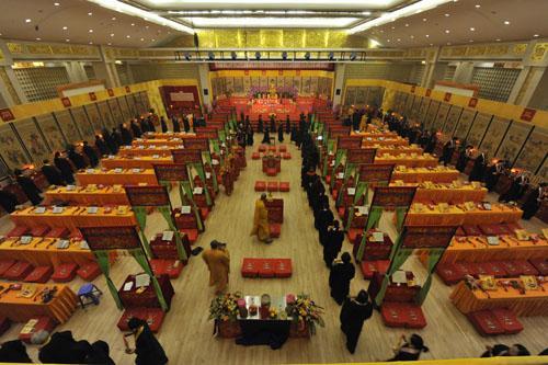 佛教水陆法会内坛